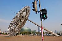 Chine, Shanghai, Shanghai Oriental Art Center a Pudong //  China, Shanghai, Shanghai Oriental Art Center at Pudong