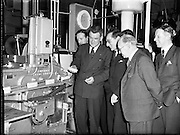 28/01/1953<br /> 01/28/1953<br /> 28 January 1953<br /> Wholesale grocers visit McDonnell's Margarine Factory, Drogheda, Co. Louth.