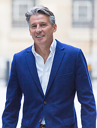 London, July 23rd 2017. IAAF President  Sebastian Coe attends the Andrew Marr Show at the BBC's New Broadcasting House in London.