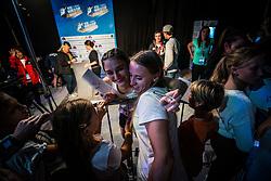 KRAMPL Mia after Finals IFSC World Cup Competition in sport climbing Kranj 2019, on September 29, 2019 in Arena Zlato polje, Kranj, Slovenia. Photo by Peter Podobnik / Sportida