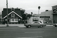 1977 Hollywood Little Red School House on Highland Ave.