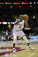 Joe Smith of Cleveland..The Miami Heat lost to the host Cleveland Cavaliers 84-76 at Quicken Loans Arena, April 13, 2008...