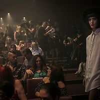 The crowd at Miss Trans Israel pageant, Tel Aviv. May 27, 2016. Photo by Michal Fattal