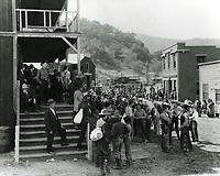 1940 Filming a western at Paramount Studios