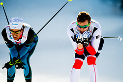 February 2, 2018 - Goms, SWITZERLAND - 180202 Ole JÂ¿rgen Bruvoll of Norway competes in the men's 15/15 km skiathlon during the FIS U23 Cross-Country World Ski Championships on February 2, 2018 in Obergoms..Photo: Vegard Wivestad GrÂ¿tt / BILDBYRN / kod VG / 170096 (Credit Image: © Vegard Wivestad Gr¯Tt/Bildbyran via ZUMA Press)