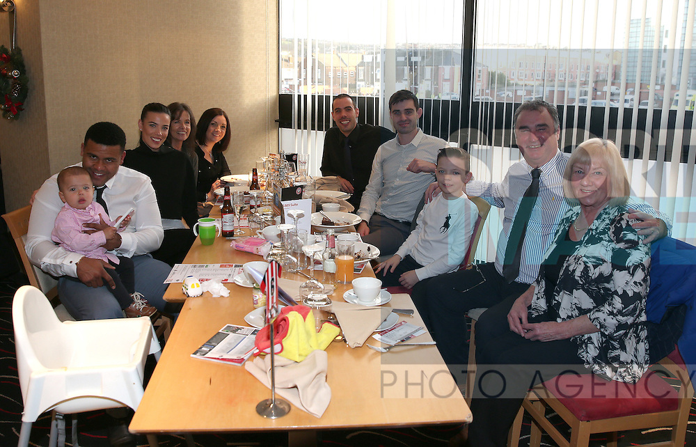 Guests in the 1889 club during the English League One match at Bramall Lane Stadium, Sheffield. Picture date: December 26th, 2016. Pic Simon Bellis/Sportimage