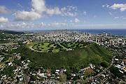 Punchbowl National Monument, Oahu, Hawaii