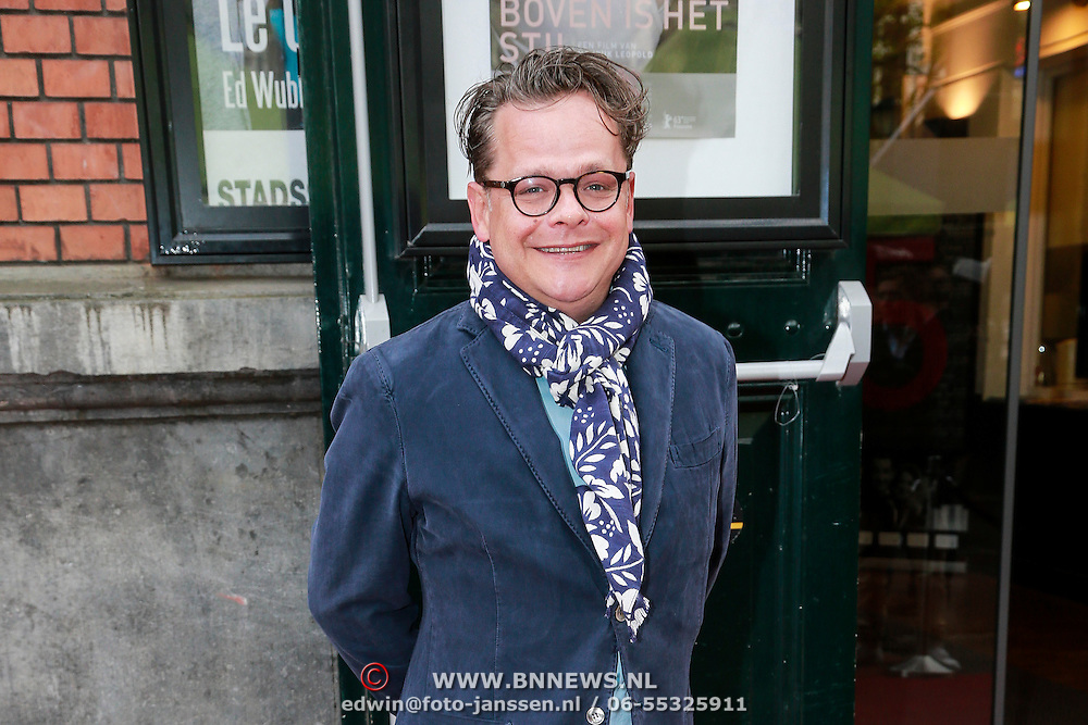 NLD/Amsterdam/20130424- Filmpremiere Boven is het Stil, Frank Houtappels