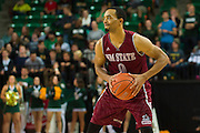 WACO, TX - DECEMBER 17: Travon Landry #0 of the New Mexico State Aggies brings the ball up court against the Baylor Bears on December 17, 2014 at the Ferrell Center in Waco, Texas.  (Photo by Cooper Neill/Getty Images) *** Local Caption *** Travon Landry