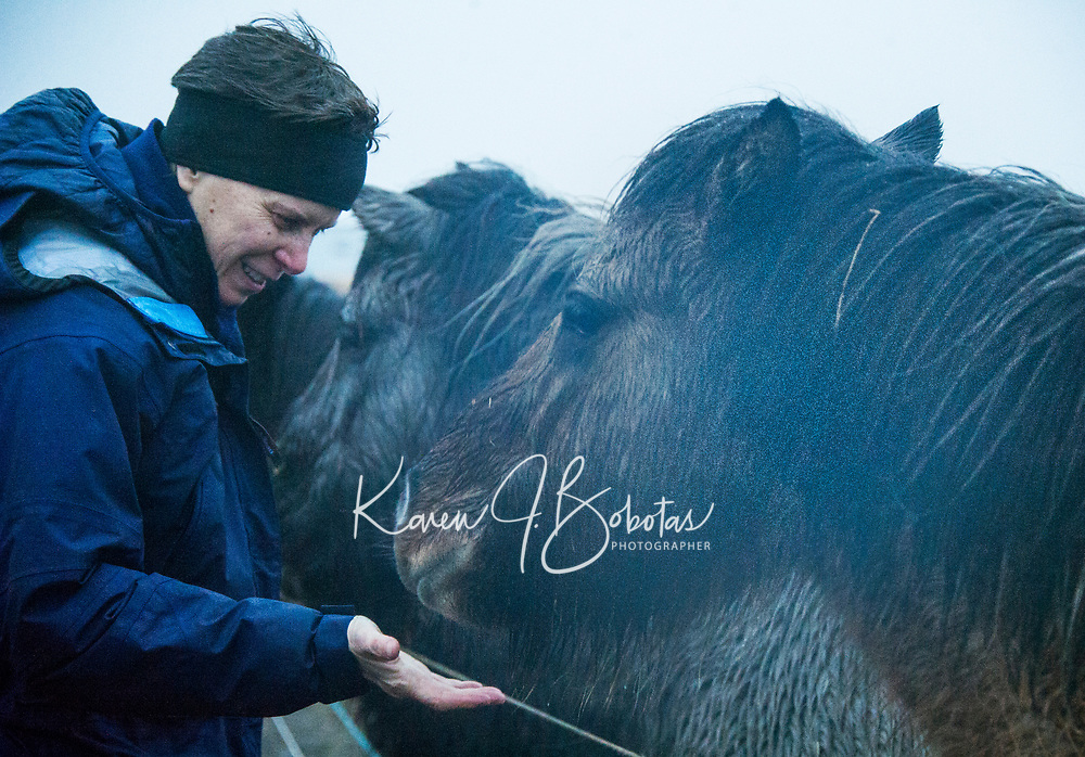 Geyser National Park in Iceland.   ©2019 Karen Bobotas Photographer
