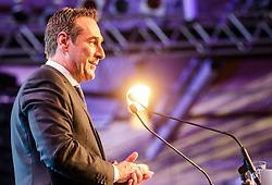 04.03.2017, Messe, Klagenfurt, AUT, FPÖ, 32. Ordentlicher Bundesparteitag, im Bild Bundesparteiobmann Heinz Christian Strache // at the 32nd Ordinary Party Convention of the Freiheitliche Partei Oesterreich (FPÖ) in Klagenfurt, Austria on 2017/03/04. EXPA Pictures © 2017, PhotoCredit: EXPA/ Wolgang Jannach