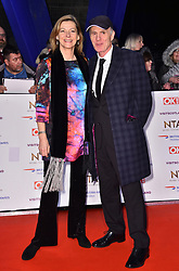 Pippa Haywood and guest attending the National Television Awards 2019 held at the O2 Arena, London.