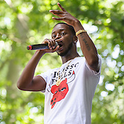 COLUMBIA, MD - May 31, 2015 - Goldlink performs at the 2015 Sweetlife Festival at Merriweather Post Pavilion in Columbia, MD. (Photo by Kyle Gustafson / For The Washington Post)