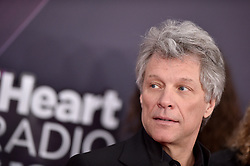 Jon Bon Jovi attends the 2018 iHeartRadio Music Awards at the Forum on March 11, 2018 in Inglewood, California. Photo by Lionel Hahn/AbacaPress.com