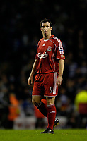 Photo: Jed Wee.<br />Liverpool v Reading. The Barclays Premiership. 04/11/2006.<br /><br />Liverpool's Robbie Fowler looks a dejected figure at the end of the game as he is given only 5 minutes of game time.