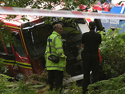 Southampton,Hampshire Darren Harvey, 25, died after crashing into a fire engine in the New Forest<br /> He told wife Becki: 'Wouldn't it be nice to die doing something you love?'<br /> His inquest heard Mrs Harvey tried to break the car window as he sped off<br /> Mrs Harvey said her husband was 'loving, caring' and a 'fantastic person'<br />   ©UKNIP