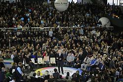 August 9, 2017 - Buenos Aires, Argentina - Buenos Aires Mayor Horacio Rodriguez Larreta  during the campaign closing of the ruling party 'Vamos Juntos' in Buenos Aires, Argentina, 09 August 2017. (Credit Image: © Gabriel Sotelo/NurPhoto via ZUMA Press)