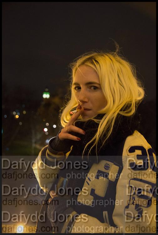 PHOEBE ARNOLD, Private view, Paul Simonon- Wot no Bike, ICA Nash and Brandon Rooms, London. 20 January 2015