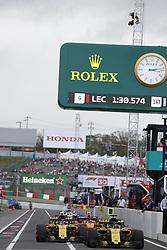 October 6, 2018 - Suzuka, Japan - Motorsports: FIA Formula One World Championship 2018, Grand Prix of Japan, .World Championship 2018 Grand Prix Japan#27 Nico Hülkenberg (Renault Sport F1 Team), #55 Carlos Sainz (ESP, Renault  (Credit Image: © Hoch Zwei via ZUMA Wire)