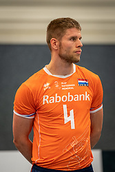 Thijs Ter Horst #4 of Netherlands during the Olaf Ratterman Memorial match between Netherlands vs. Eredivisie All Star team on May 03, 2021 in Barneveld.