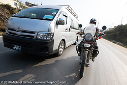 Motorcycle Sherpa's Ride to the Heavens motorcycle adventure in the Himalayas of Nepal. Riding from Daman back to Kathmandu. Wednesday, November 13, 2019. Photography ©2019 Michael Lichter.