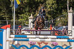 Hendrickx Dominique, BEL, No-comment De Septon<br /> Belgian Championship 7 years old horses<br /> SenTower Park - Opglabbeek 2020<br /> © Hippo Foto - Dirk Caremans<br />  13/09/2020