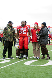 04 November 2006: Senior Day - Janiah Downing. In a decisive victory, the Illinois State Redbirds defeat the Missouri State Bears 38-14 at Hancock Stadium on the campus of Illinois State University in Normal Illinois.<br />