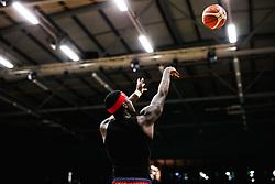 Jalan McCloud of Bristol Flyers - Rogan/JMP - 19/04/2019 - BASKETBALL - University of Worcester Arena - Worcester, England. - Worcester Wolves v Bristol Flyers - British Basketball League.