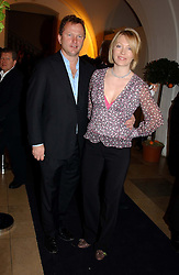 NICK JONES and his wife KIRSTY YOUNG<br /><br />at a party to celebrate the 10th anniversary of Jo Malone the perfumer held at The Banquetting House, Whitehall, London on 21st October 2004.<br /><br /><br /><br />NON EXCLUSIVE - WORLD RIGHTS