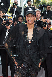 Justice Maya Singleton attends The TraitorRed Carpet during 72nd Cannes film festival on May 23, 2019 in Cannes, France. Photo by Nasser Berzane/ABACAPRESS.COM