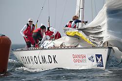 Peter Gilmour (AUS) YANMAR Racing. Danish Open 2010, Bornholm, Denmark. World Match Racing Tour. photo: Loris von Siebenthal - WMRT