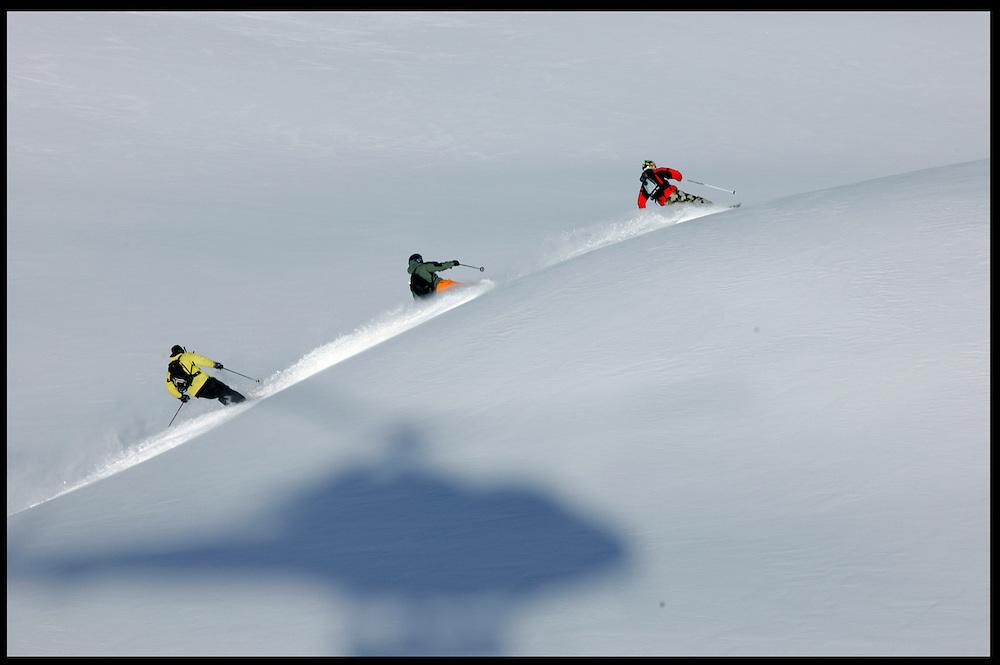 Seb Michaud, Stephane Dan, David Allemoz (Emosson Switzerland)
