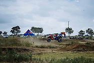 Participants drive at Seth Quintero, Mitch Guthrie, Jr. custom-built SXS course TexPlex in Dallas, Texas, USA on 29 August, 2021.