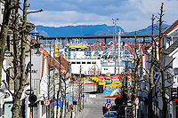 Norway, Stavanger. Center of Stavanger.