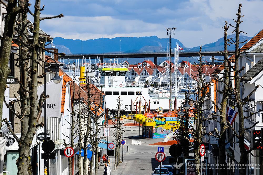 Norway, Stavanger. Center of Stavanger.