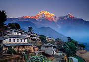 Gandrung village, Annapurna South, Nepal