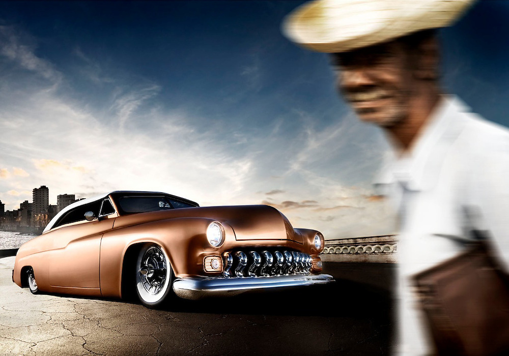 1951 Chevy Lead Sled