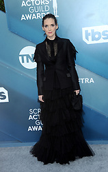 Winona Ryder at the 26th Annual Screen Actors Guild Awards held at the Shrine Auditorium in Los Angeles, USA on January 19, 2020.