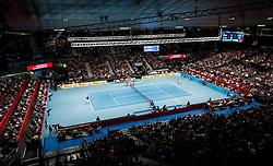 30.10.2016, Stadthalle, Wien, AUT, ATP Tour, Erste Bank Open, Finale, im Bild die Halle // The center court during the final match of Erste Bank Open of ATP Tour at the Stadthalle in Vienna, Austria on 2016/10/30. EXPA Pictures © 2016, PhotoCredit: EXPA/ Sebastian Pucher