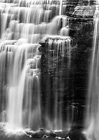 Waterfall at Letchworth State Park in New York