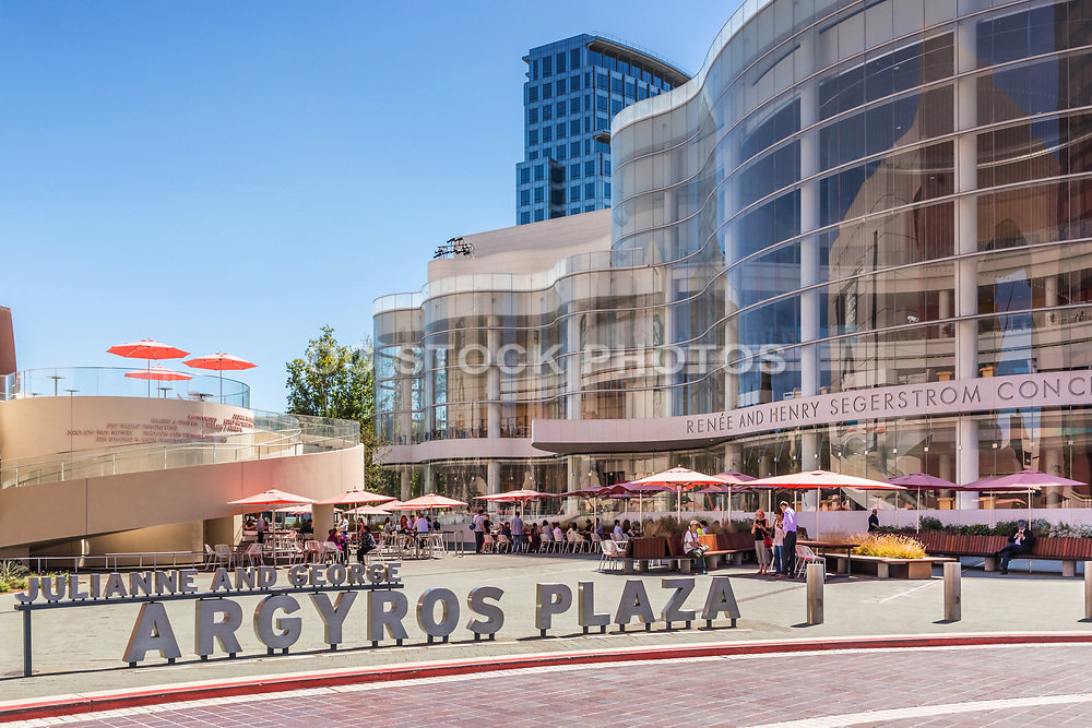 Outdoor Dining At Argyros Plaza By Renee And Henry Segerstrom Concert Hall