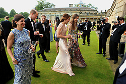 The Duke and Duchess of Cambridge (centre foreground) walk alongside the Marquess and Marchioness of Cholmondeley as they attend a gala dinner at Houghton Hall in King's Lynn in support of East Anglia's Children's Hospices' nook appeal, which is raising funds to build and equip a new children's hospice for families in Norfolk.