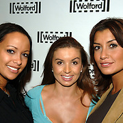 NLD/Amsterdam/20060129 - Modeshow Wolford, Sonja Silva, Rossana Lima en Valerie Zwikker