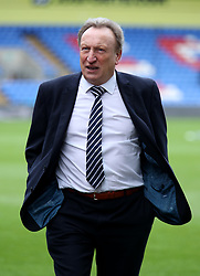 Cardiff City manager Neil Warnock prior to the Premier League match at Selhurst Park, London.