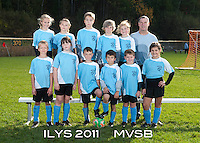 Inter Lakes Youth Soccer League MVSB Team October 15, 2011.