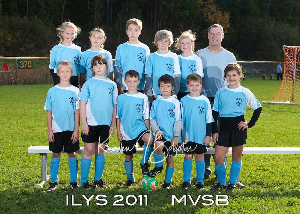 Inter Lakes Youth Soccer League MVSB Team October 15, 2011.
