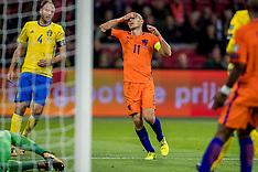 20171010 NED: WK kwalificatie Nederland - Zweden, Amsterdam