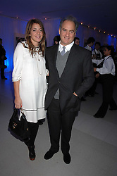 AMANDA SHEPHERD and CHARLES FINCH attending the Tag Heuer party where an exhibition of photographs by Mary McCartney celebrating 15 exception women from 15 countries was unveiled at the Royal College of Arts, Kensington Gore, London on 8th February 2007.<br />