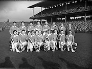 23/10/1960<br /> 10/23/1960<br /> 23 October 1960<br /> Oireachtas Final: Cork v Tipperary at Croke Park, Dublin.<br /> Cork team.