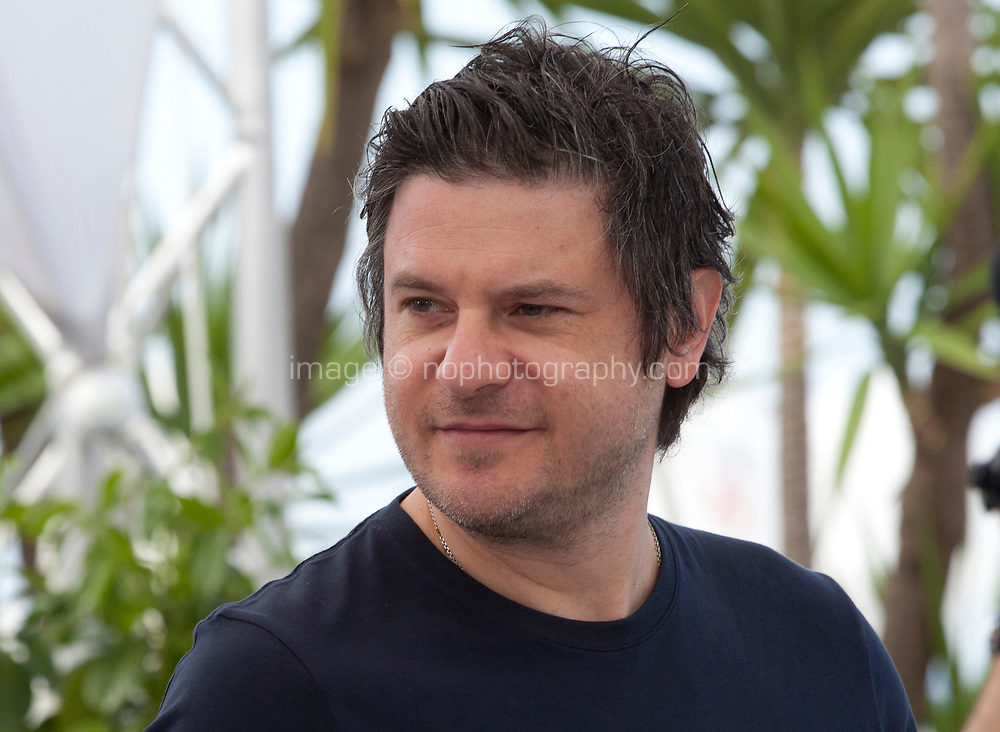 Actor Edoardo Pesce at the Dogman film photo call at the 71st Cannes Film Festival, Thursday 17th May 2018, Cannes, France. Photo credit: Doreen Kennedy
